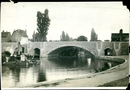 The new bridge over the thames at abington will be formally opened by lady mount.