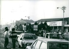 South African Scenes, Security forces patrol soweto