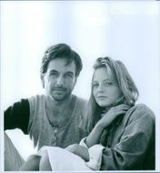 Mark Harmon and Jodie Foster in Stealing Home.