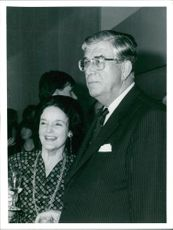 Businessman Richard Cave and Lady Cave