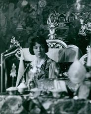 Hope Cooke, Queen of Sikkim in 1971.