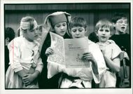 Schools 1988:Pupils from St.Louis Middle School.