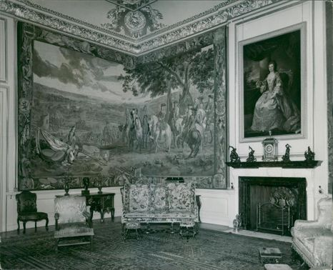 The view of the breen room.