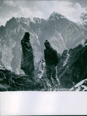 1951 Two mountaineers reached the Summit.