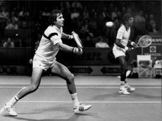Ilie Nastase plays the Stockholm Open