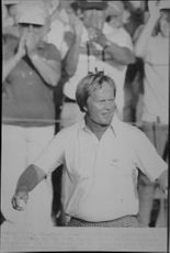 Golf player Jack Nicklaus wins the US Masters 1986