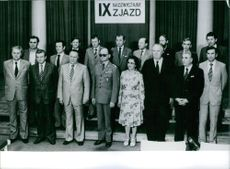 Politburo of the Polish United Workers' Party, 1981.