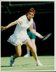 Tennis player Sabine Appelmans