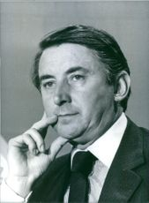 British politician, David Steel, M.P., 1983.
