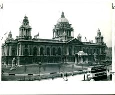 City Hall, donegal Square, Belfast.