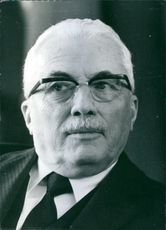 Portrait of Doctor Renato Lombardi, December, 1970.