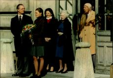King Carl XVI Gustaf, Crown Princess Victoria, Queen Silvia, Princess Lilian and Prince Bertil