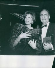 "A portrait of couple James Gilmore ""Jim"" Backus and Henny Backus"