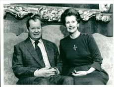 Earl Edward John Spencer and Countess Raine Spencer