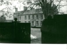 View of Churchill´s home Chartwell, 1965.