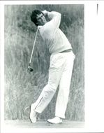 Golfer Ian Baker-Finch during 1986's British Open
