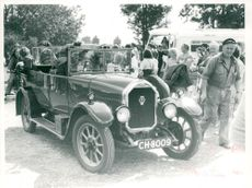 A 1928 Humber 14/40