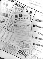 Shows the receipt of Lee Oswald of Ammunition repair during the investigation of the assassination of John F. Kennedy, Nov 1963.