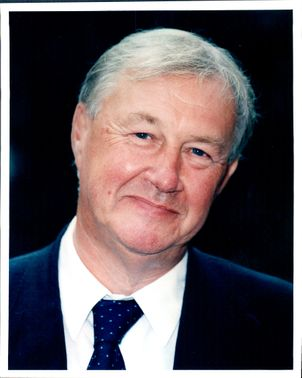 Portrait image of Sir Terence Conran taken in an unknown context.