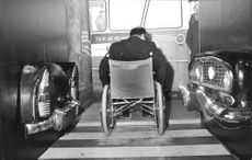 Disabled exhibition in Handen by Swedish Travelling Exhibitions