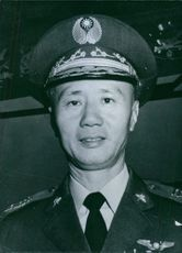 1964  Portrait of a national Chinese Service Chief HSU HUAN SHENG, Commander-in-Chief, Chinese Air Force in Formosa.