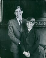 Prince Andrew and Prince Edward, 1975