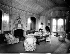 The Main Drawing Room at Arbury Hall.