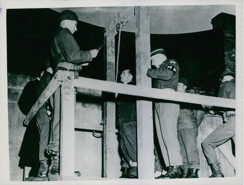 Three Germans Executed for Burden of U.S. Airman