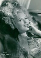 Actress Grace Moore