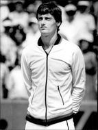 The tennis player Rolf Gehring