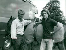 The Police: Robert Kilroy-Silk and Stewart Copeland.