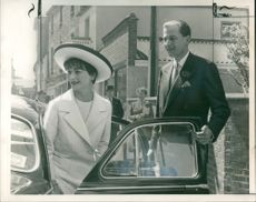 Anthony Nutting and Anne Gunning