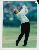 Golf player Ernie Els during Birtish Open 1995