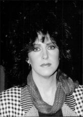 Grace Slick, singer in the rock band Starship