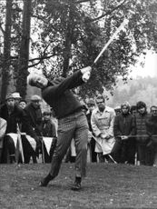 Golf player Jack Nicklaus
