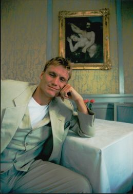 Portrait image of actor Dolph Lundgren taken in an unknown context.