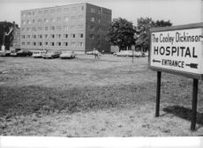 The Cooley Dickinson Hospital where Ted Kennedy was rushed after his plane crash.  - Jun 1964