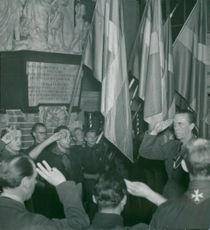 Folke Bernadotte installed chief executives for newly formed scout corps
