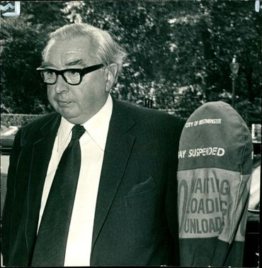 Lord George Brown after banned from driving for a year