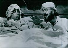A scene from the film Fiddler on the Roof. 1971
