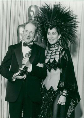 Don Ameche with Cher.