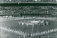 Football. World Cup 1978 Argentina. Opening Ceremony