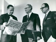 Employers' Association: Jarl Hjalmarsson, Blomgren and Vilhelmsson