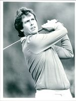 Golfer Ian Baker-Finch during European Open