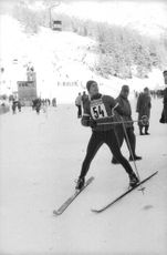 Aga Khan IV participated during winter Olympics held in Innsbruck, Austria.  - Feb 1964