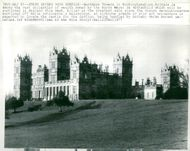 Auction item Mentmore Towers Buckinghamshire, owned by Baron Meyer de Rothschild.