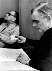Sten Broman and Sixten Ehrling in an unknown context.