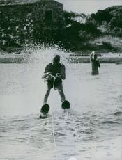 Paul Reynaud in one of his fave water sport activity.