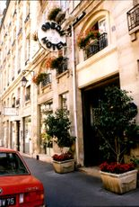 """The Odéon Hotel was one of the stops on the """"Diana Tour""""."""