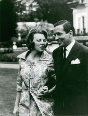 Princess Beatrix and Claus von Amsberg engaged.